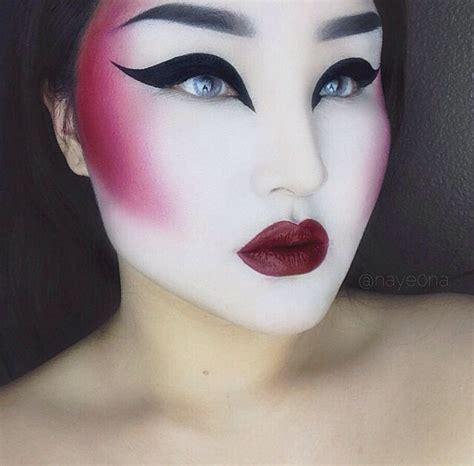 Eyeshadow Japan modern day geisha fx editorial makeup