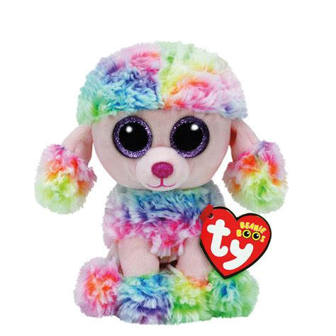 beanie boo ty beanie boo small poufy the poodle soft s