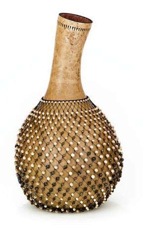 beaded gourd instrument gourd quot shekere quot instrument by carol twombly