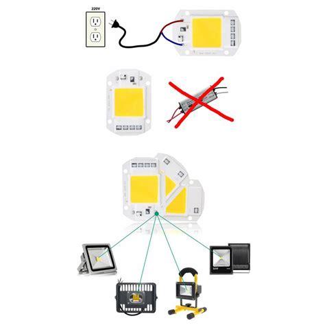 Chip 220v chip led cob 50w a 230v