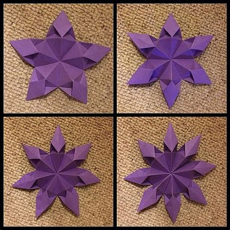 Origami Kite - origami excellent interpretation and refined and