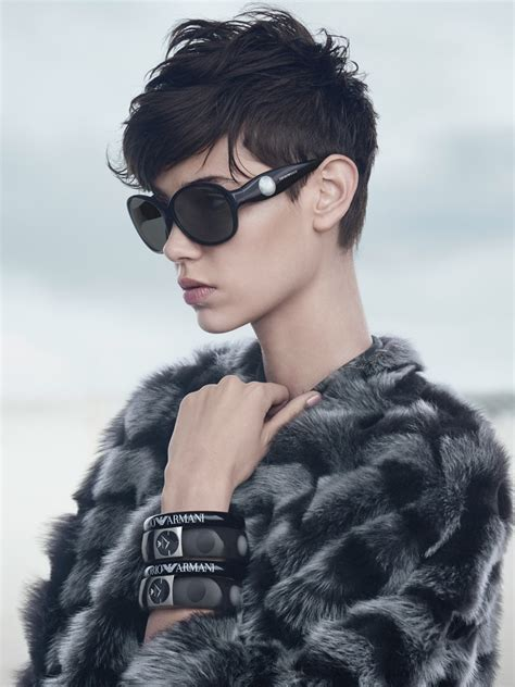 armani haircut emporio armani fall winter 2014 caign