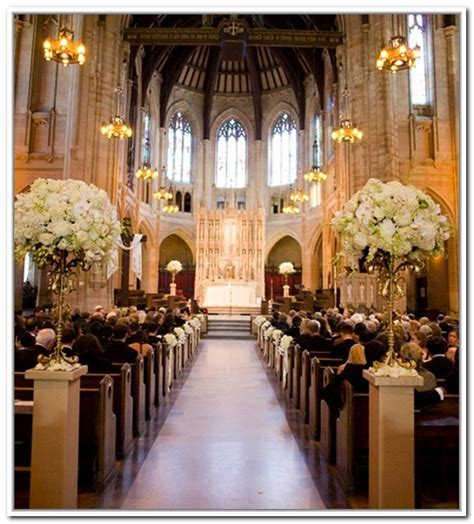 Aisle Church Wedding Decorations   99 Wedding Ideas