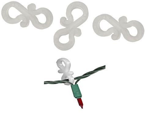 hanging outfoor christmas light tools 100 x gutter hanging hooks for string lights outdoor ebay