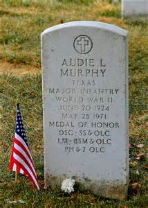 audie murphy arlington national cemetery most decorated