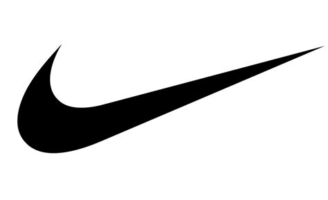 nike swoosh template nike logo or nike swoosh free coloring pages