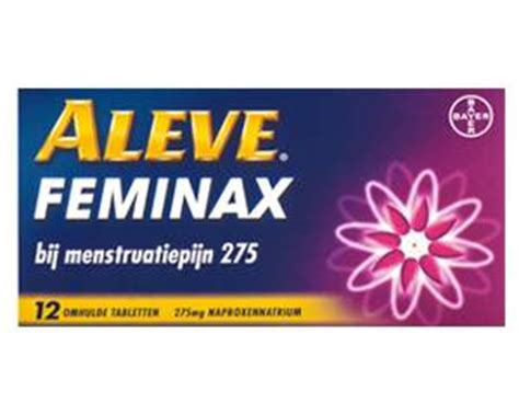 How To Detox From Naproxen by Aleve Feminax Menstrual Symptoms Order