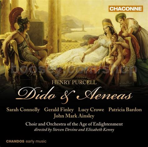 henry purcell s dido and aeneas books henry purcell dido aeneas chaconne audio cd