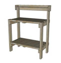 simple potting bench plans a simple potting bench plans free