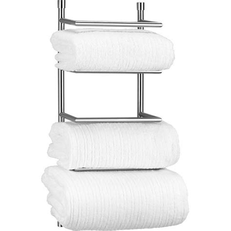 Wall Towel Rack Rolled Towels by Brushed Steel Wall Mount Towel Rack Wall Mount And