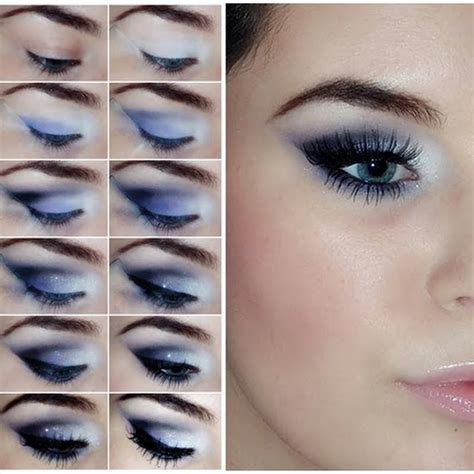 eyeshadow tutorial pictures create 16 different makeup looks that will make your blue