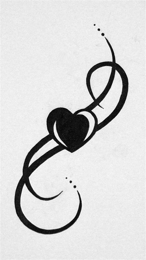 entwined heart tattoo designs tribal request by eyelidsstapledshut on deviantart