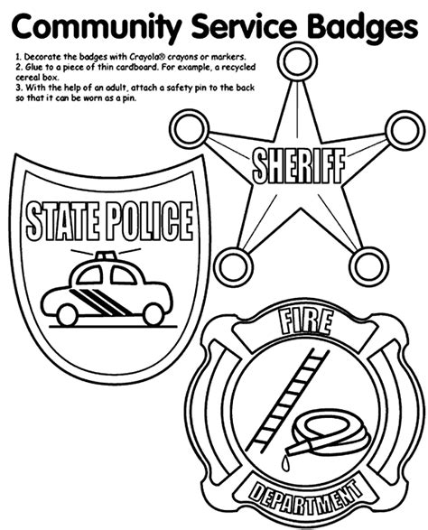 badge template for preschool badges coloring pages az coloring pages