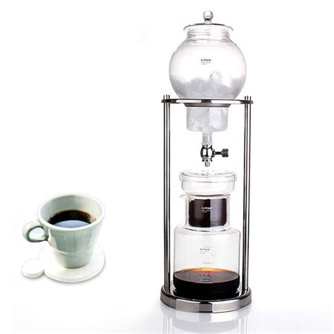 Gater Drip Pot Woodneck Clemex Cold Drip Coffee Maker W Filter Bag Bd4 coffee cold drip coffee maker gater cirelli coffee roastery