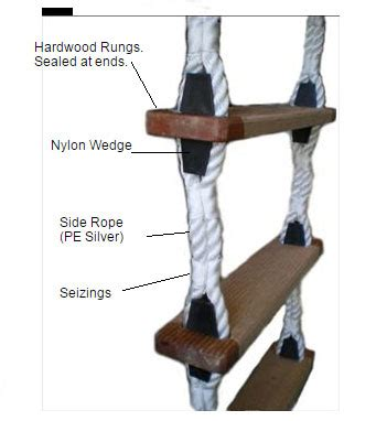 rope ladders wa ropes ropes cords twines nets