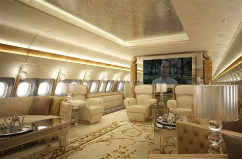 vip aircraft interior design  completions