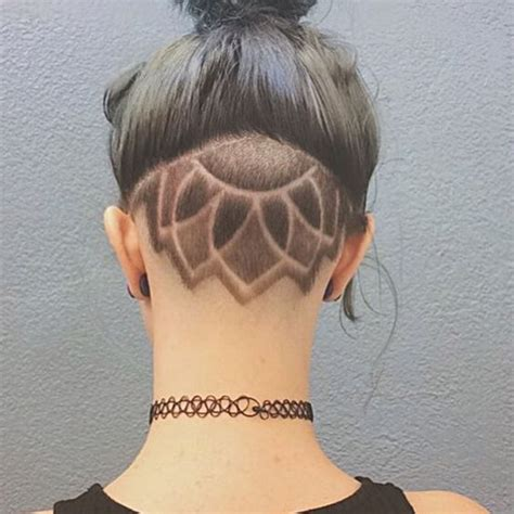 Pattern Undercut | astonishing hidden hair tattoo ideas the haircut web