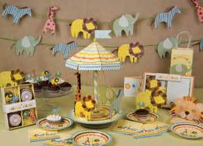 it s a wild time with a boys safari baby shower b lovely events