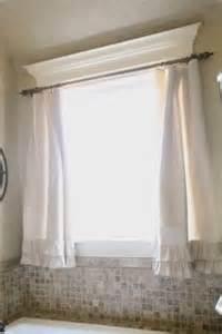 Cheap Ruffle Curtains 1000 Ideas About Bathroom Window Curtains On Pinterest