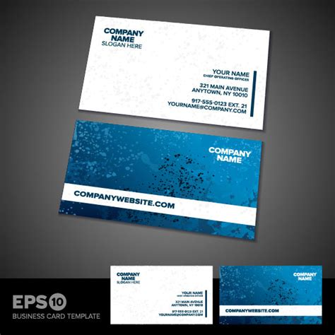eps format visiting cards free download business card templates vector 01 vector other free download