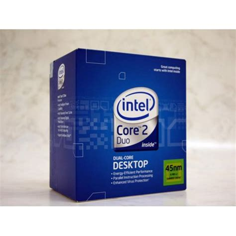 intel 2 duo e8400 3 00ghz intel 2 duo e8400 2x 3 00ghz so 775 box hardware