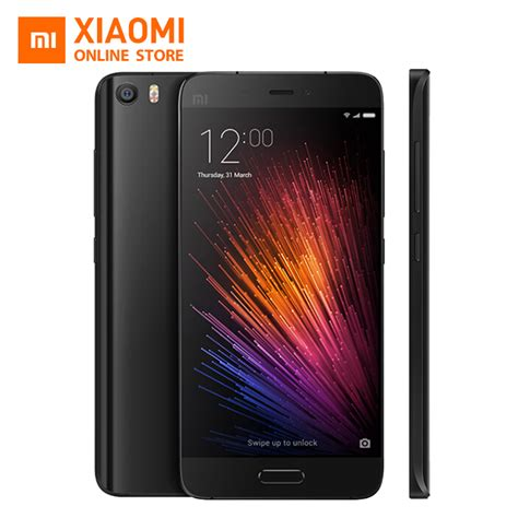 Xiaomi Mi 5 3 32 White Global Rom Garansi 1tahun aliexpress buy original xiaomi mi5 m5 5 15 quot snapdragon 820 mobile phone 3gb 32gb
