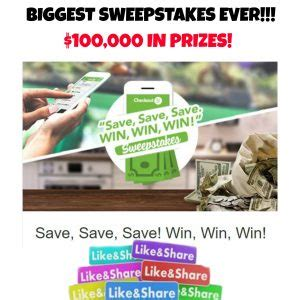 Biggest Sweepstakes - checkout 51 canada guide offers matchups