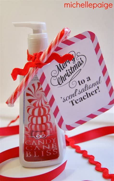christmas gifts for teachers from principal blogs soap gift for