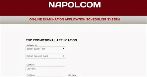 Confirmation Letter Napolcom Napolcom Application System Oleass For April 2014 Pnp Entrance Promotional The
