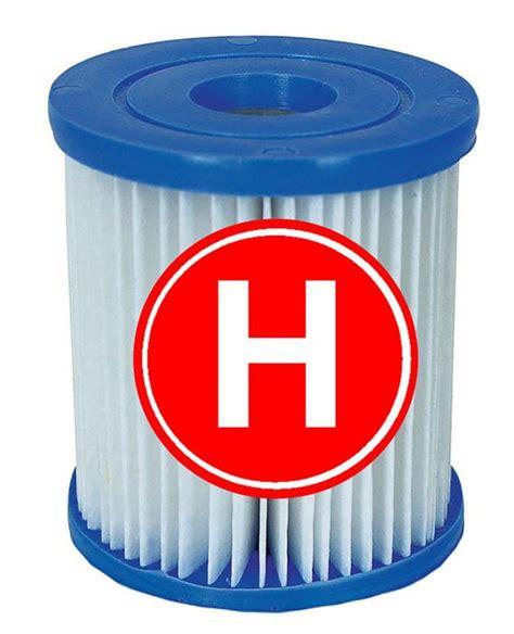 intex type h cartridge filter pack of 6 pool filters