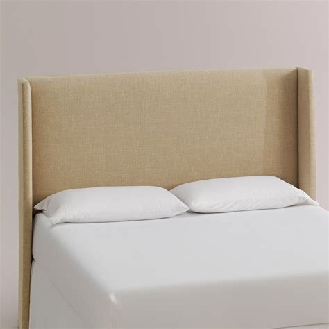 World Market Headboard by Linen Bryn Headboard World Market