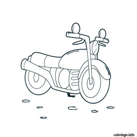 Coloriage Moto Dessin Coloriage Moto Cross Imprimer Gratuitl L