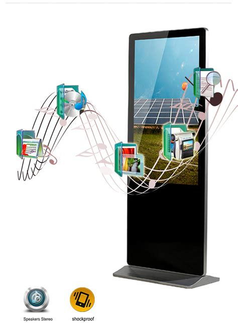 Digital Signage Murah 50 Inch Android System Wifi Lan Hdmi 55 quot indoor android totem touchscreen
