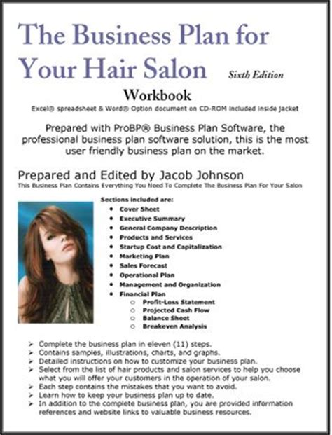 hair salon business plan template your hair hair and all all on