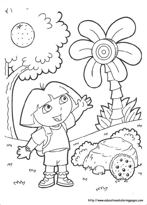 dora coloring page pdf dora coloring pages free for kids