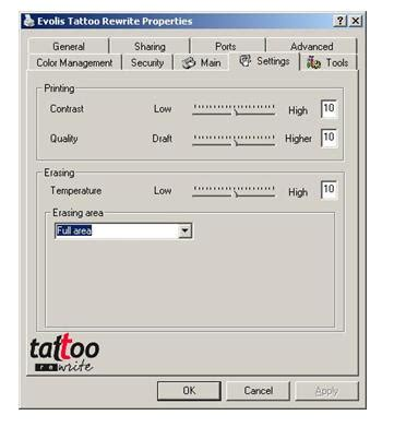 tattoo printer software your questions about tattoo rw 2 card printer evolis
