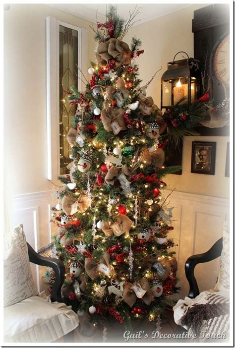 decorating tree with burlap 17 best images about oh tree on