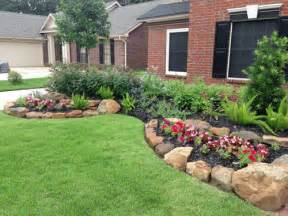 what are simple landscaping ideas for front and back yards