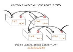 wiring batteries in a series and parallel chrome battery
