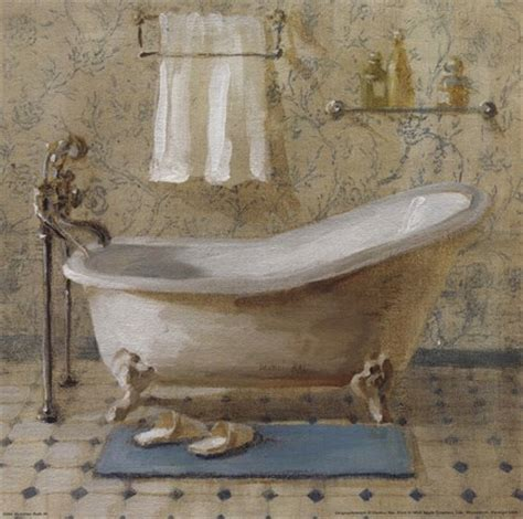 victorian bathtub victorian bath iii fine art print by danhui nai at