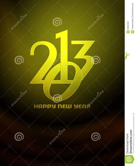 beautiful happy new year design beautiful happy new year 2013 design stock photography