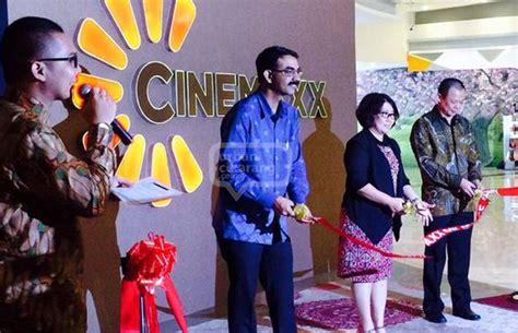 cinemaxx orange county bioskop cinemaxx maxxbox orange county cikarang resmi dibuka