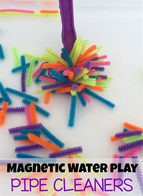 Sensory Toys Pipe Cleaner Isi 10 pipe cleaner magnetic water play