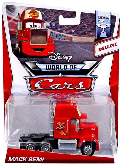 Diecast The World Of Cars Kualitas Bagus disney cars the world of cars mack semi 155 diecast car 9 mattel toys toywiz
