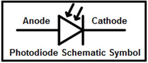 photodiode symbol photodiode schematic symbol