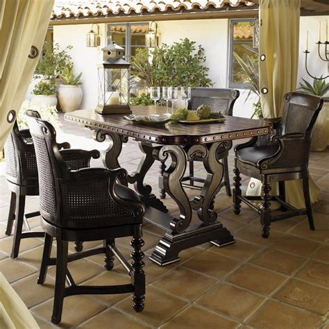 Tommy Bahama Furniture Kingstown Sienna Bistro Set Atg Bahama Dining Room Furniture Collection