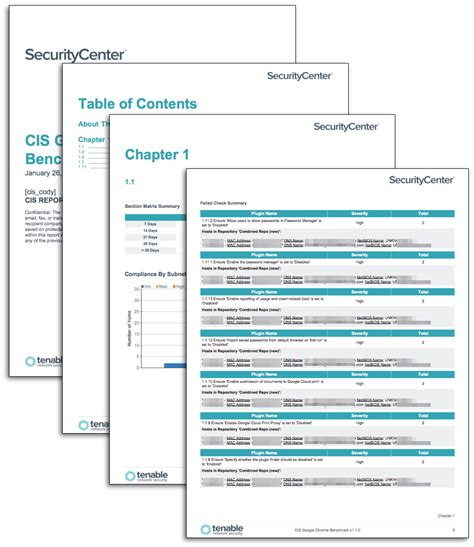 Cis Report Template Cis Desktop Application Compliance Reports Sc Report