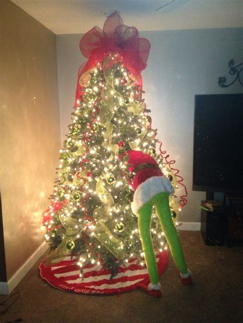 grinch christmas ideas grinch tree idea
