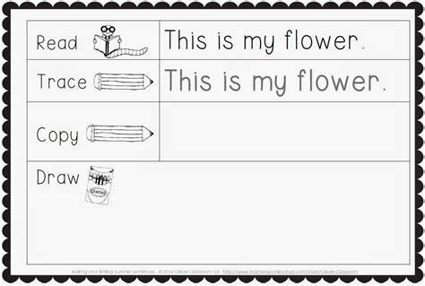 Kindergarten Writing Sentences Worksheets Writing Arsiptembi