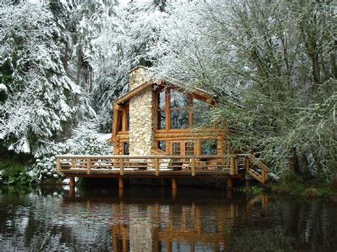 the lodge living room bild guest house log cottages